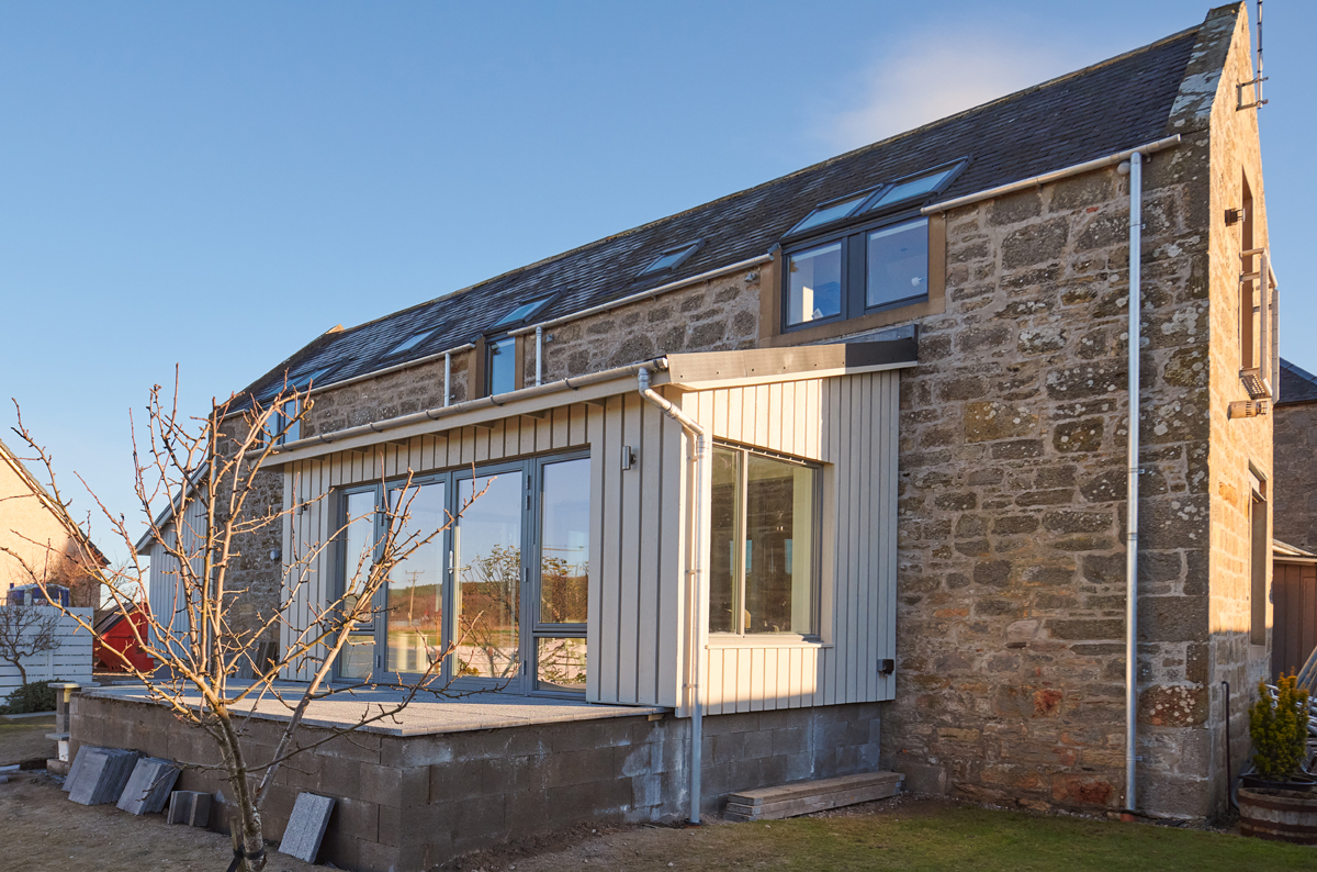 House Extension by George Innes builder elgin moray